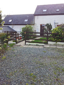 Location, LOCATION. This it IT. 2 bed - 1 dbl. 1sgl. barn conversion cottage. Totally rural, yet?