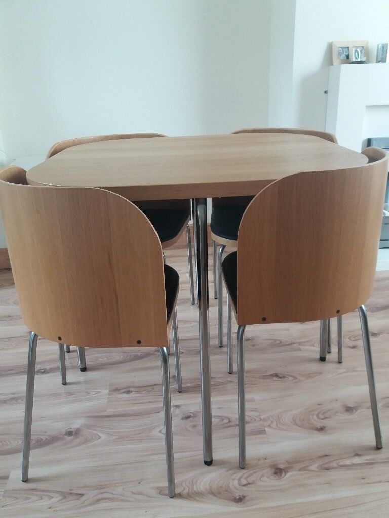 Compact Dining Table And 4 Chairs Ikea In Coulby Newham North Yorkshire Gumtree