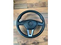 mercedes a class steering wheel and air bag