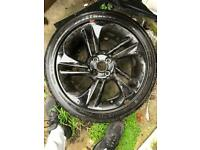 1 corsa wheel with alloy + x4 full set of wheels and alloy for volkswagen golf