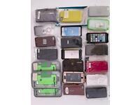 Job lot - 21 Apple iPhone 5 cases