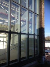 Glass aluminium frame wall (window)for sale
