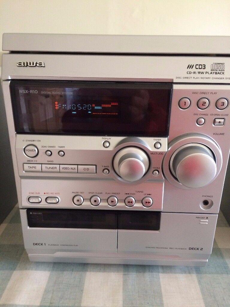 aiwa NSX-R10 Digital audio system