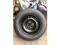 VW T5 spare Wheel and tyre