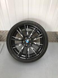"19"" BMW M Performance light alloy wheels Double-spoke 624 M"