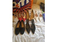 Size 5 bundle. New and old shoes.