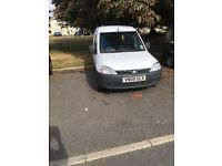 Vauxhall combo 1.3 5 seats mot until next year non runner/spares or repairs