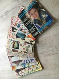 Selection of Italian Craft magazines
