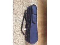 Stentor half size violin case - blue
