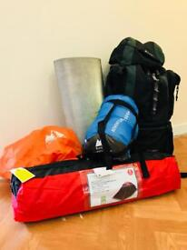 Campers hikers travellers necessity pack