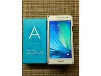 Samsung galaxy A3 16gb White Unlocked Excellent condition