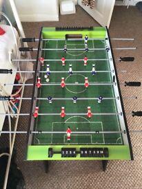 Kids football table - hardly used