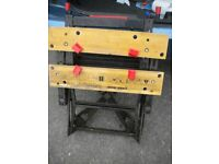 A BLACK AND DECKER WORKMATE