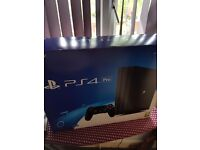 Brand new sealed ps4 pro with cod infinite war