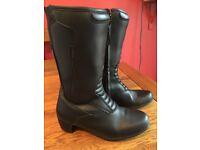 Ladies merlin Motorcycle boots