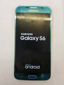 Galaxy s6 32gb Coral Blue unlocked