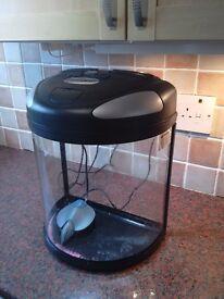 FISH BOX semi-circular fish tank