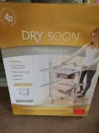 2 tier heated airer