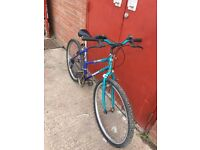 GIRLS MOUNTAIN BIKE FOR SALE £35