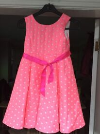 Monsoon party dress age 10