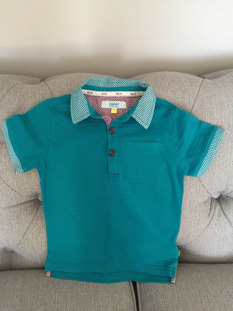 2d7e39c02ed111 Ted Baker boys polo top age 4-5 years excellent condition