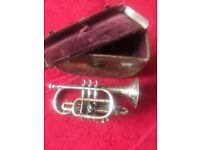 Antique trumpet Hawkes and Son