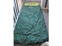 Sleeping bag - 2 -3 season Regatta brand