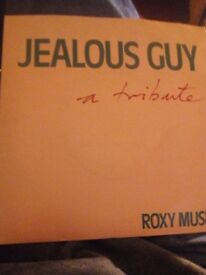 Roxy music.vinyl record,jealous guy.