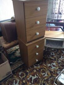 Two Bedroom Drawer Units