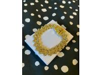 14MM DIAMOND PRONG LINK BRACELET - GOLD