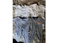 Clothes for boy 0-3 months