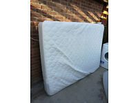 IKEA Double Mattress with Mattress Protector For Sale - Fantastic Condition