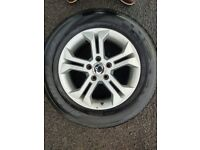 Alloy wheels 18 inch 255 60 18 tyres Mercedes, Renault ssangyong etc