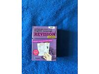 English revision cards