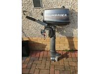 Mariner 4HP Petrol Outboard Engine
