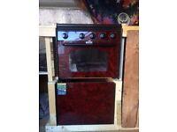 Gas caravan/campervan oven