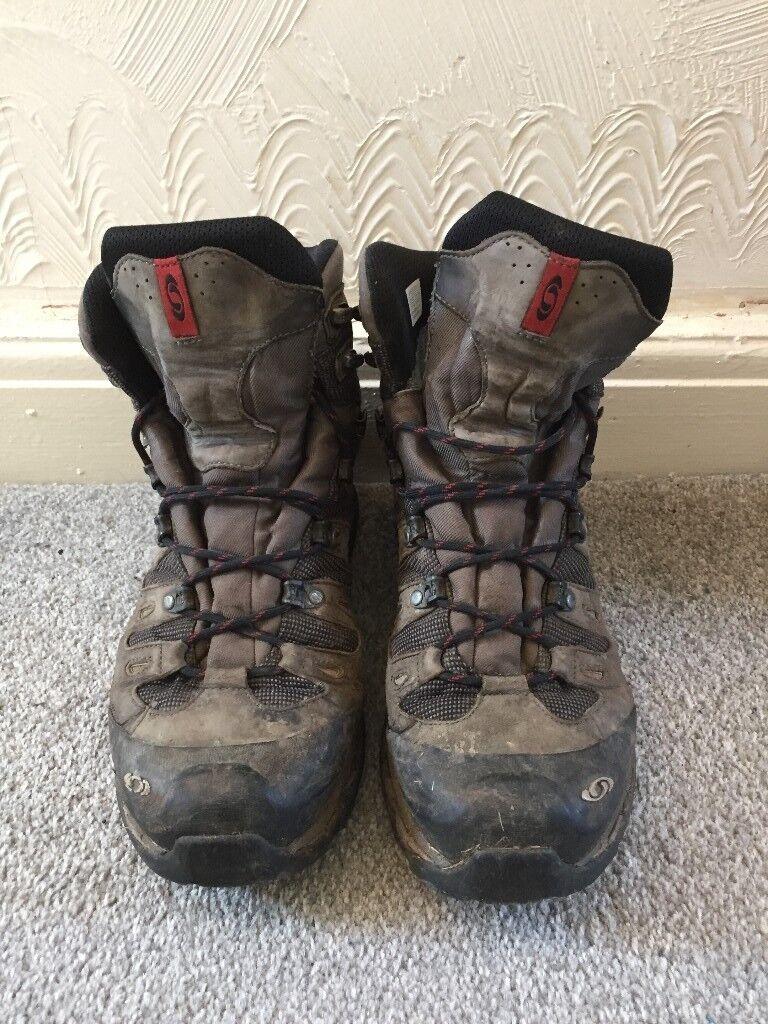 fac97c99732 Salomon QUEST 4D 3 GTX walking boots (2010 version) UK 11 (but probably a  better fit for UK 10)