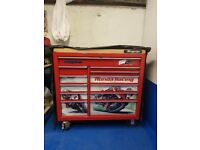 "Snap on 40"" Roll Cab with Butchers Block + Cover"