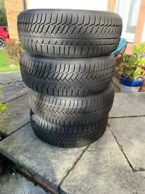 4 x winter tyres