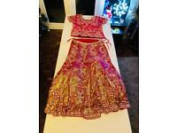 Wedding Lengha Red