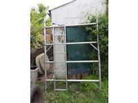 1 x BOSS DOUBLE WIDTH (1.45m) 2m tall ladder frame.