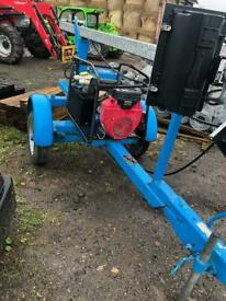 Towable generator plus telescopic flood lights for sale