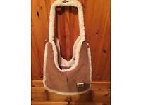 Genuine Ugg sheepskin bag