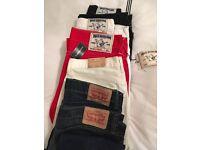 Designer Fashion Jeans True Religion Ralph Lauren Levi's