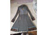 Unusual lovely size 8-12 womens cardigan