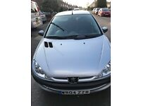 PEUGEOT 206 S 5DR HATCHBACK, A/C, FULL SERVICE HISTORY, LOW MILEAGE, EXCELLENT CONDITION