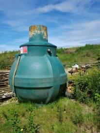 Balmoral septic tank