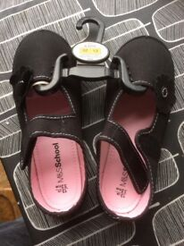 M&S girls indoor shoes size 13