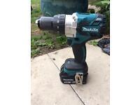 Makita 18v brushless hammer drill