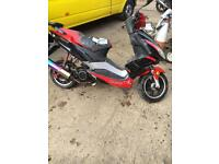 Pulse lightspeed 125 2013 project spares or repair